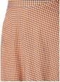 Glamorous Mini Kloş Etek Renkli